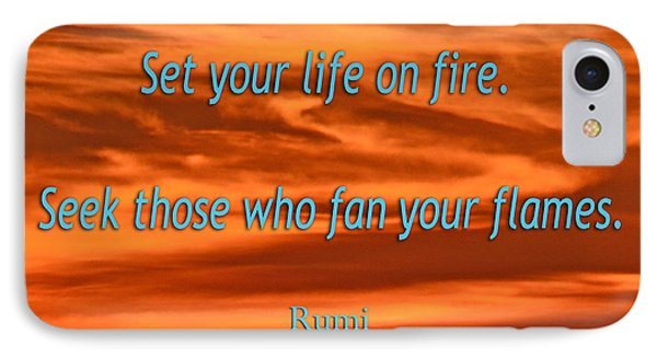 120- Rumi IPhone Case by Joseph Keane