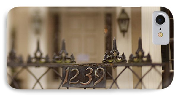 1239 Gate IPhone Case by Heather Green