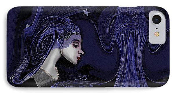 128 - Melancholia ... IPhone Case by Irmgard Schoendorf Welch