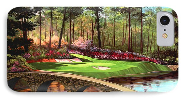 12th Hole At Augusta  IPhone Case