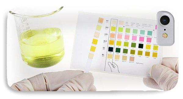 Home Urine Test IPhone Case