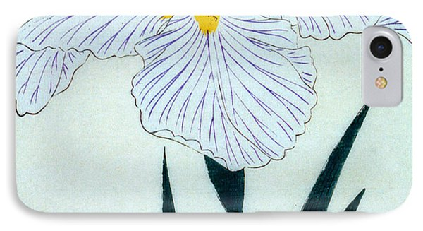 Japanese Flower Phone Case by Japanese School