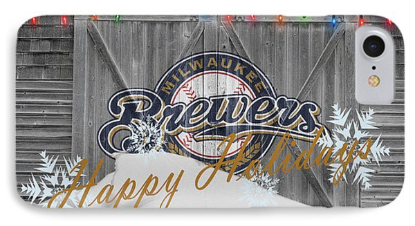 Milwaukee Brewers Phone Case by Joe Hamilton