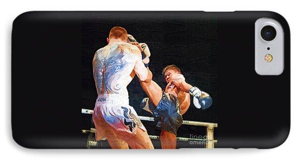 Muay Thai Arts Of Fighting IPhone Case by Rames Ratyantarakor
