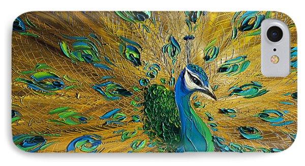 Peacock Phone Case by Willson Lau