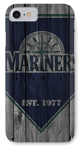 Seattle Mariners IPhone Case by Joe Hamilton