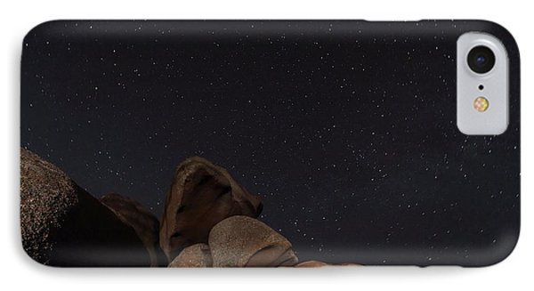 Stars In A Night Sky IPhone Case by Laurent Laveder
