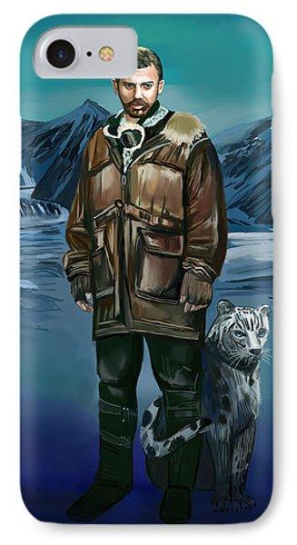 IPhone Case featuring the digital art Tiger by Bogdan Floridana Oana