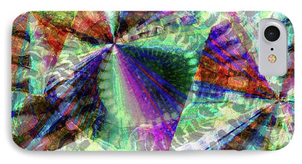 Abstract Polarised Light Micrograph IPhone Case