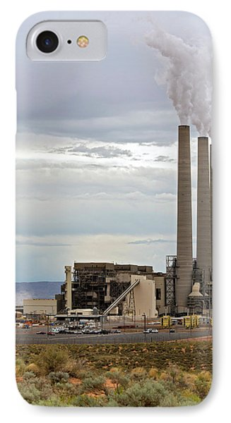 Coal-fired Power Station IPhone Case by Jim West