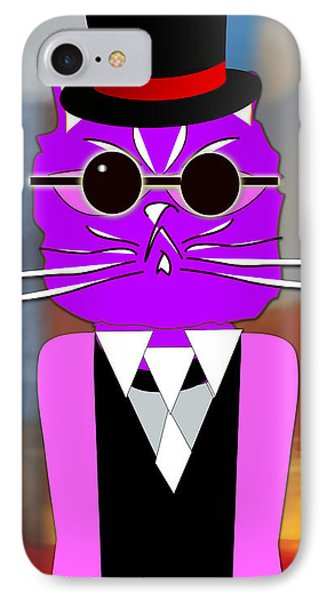 Cool Cat IPhone Case by Marvin Blaine