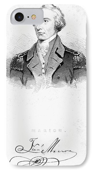 Francis Marion (1732?-1795) Phone Case by Granger