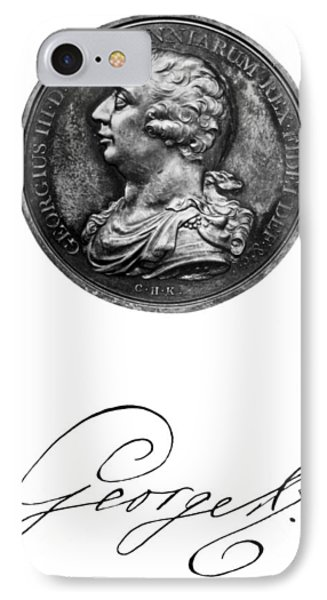 George IIi (1738-1820) IPhone Case by Granger