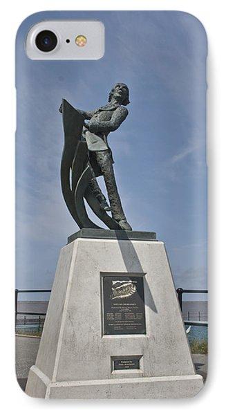 Rnli Memorial Statue IPhone Case