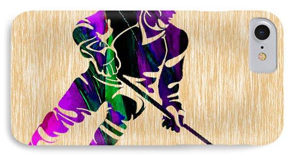 Hockey IPhone Case by Marvin Blaine