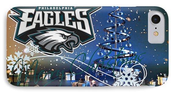 Philadelphia Eagles IPhone Case by Joe Hamilton