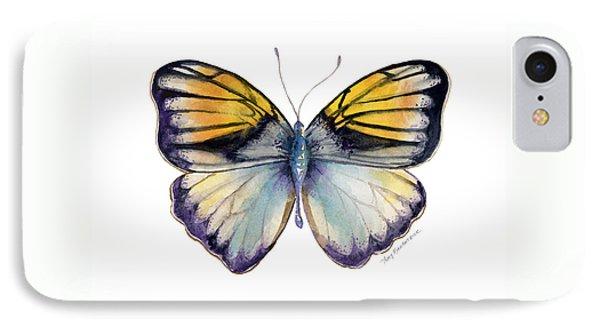 14 Pieridae Butterfly IPhone Case by Amy Kirkpatrick