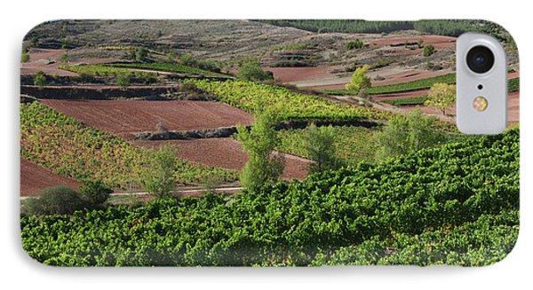 Spain, La Rioja Region, La Rioja IPhone Case by Walter Bibikow