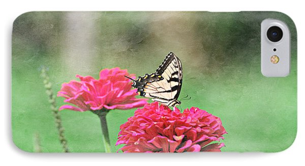 IPhone Case featuring the photograph Swallowtail Butterfly by Lila Fisher-Wenzel