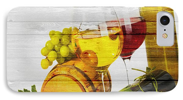 Wine IPhone Case by Joe Hamilton