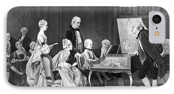 Wolfgang Amadeus Mozart (1756-1791) IPhone Case by Granger
