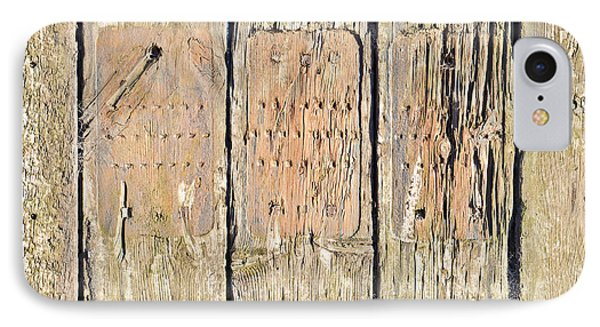 Wood Background Phone Case by Tom Gowanlock