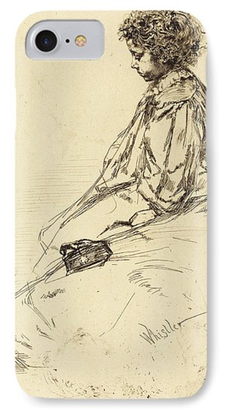 James Mcneill Whistler American, 1834 - 1903 IPhone Case by Quint Lox