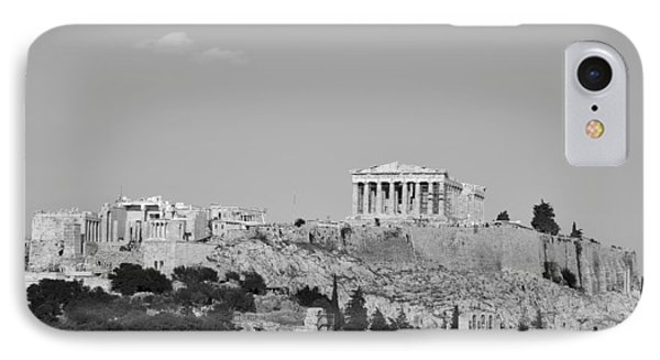 Acropolis Of Athens IPhone Case by George Atsametakis