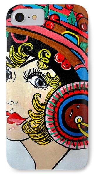 Art Deco  Ann IPhone Case