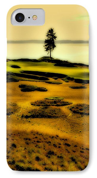 #15 At Chambers Bay - Location Of The 2015 Us Open IPhone Case by David Patterson