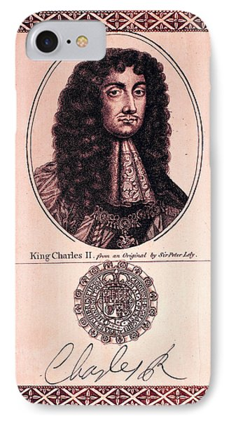 Charles II (1630-1685) IPhone Case by Granger