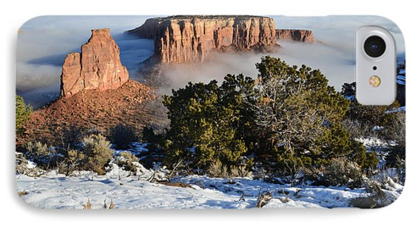 Colorado National Monument IPhone Case by Ray Mathis