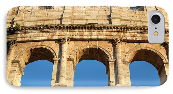 Colosseum In Rome Phone Case by George Atsametakis