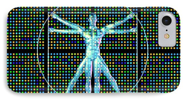 Genetic Research IPhone Case by Pasieka
