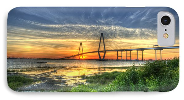 Lowcountry Sunset Phone Case by Dale Powell