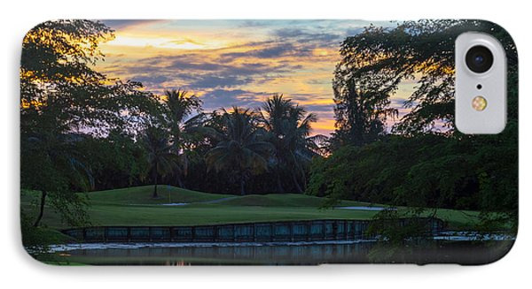 15th Green At Hollybrook IPhone Case by Ed Gleichman