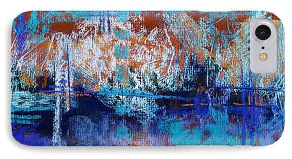 Bridges To Nowhere Phone Case by Tracy L Teeter