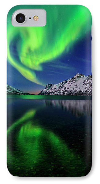 Aurora Borealis IPhone Case by Babak Tafreshi