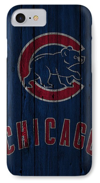 Chicago Cubs IPhone Case by Joe Hamilton