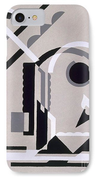 Design From Nouvelles Compositions Decoratives Phone Case by Serge Gladky