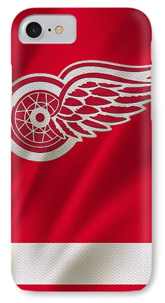 Detroit Red Wings IPhone Case by Joe Hamilton