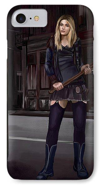 IPhone Case featuring the digital art Girl by Bogdan Floridana Oana
