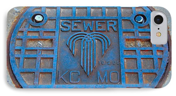 Man Hole Covers Kc IPhone Case