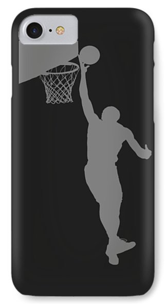 Nba Shadow Player IPhone Case by Joe Hamilton