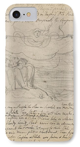 Notebook Of William Blake IPhone Case