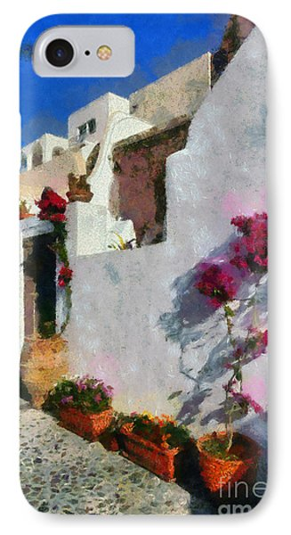Oia Town IPhone Case
