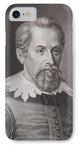 1620 Johannes Kepler Astronomer Portrait IPhone Case