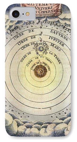 1683 Copernicus Universe Early Print IPhone Case by Paul D Stewart