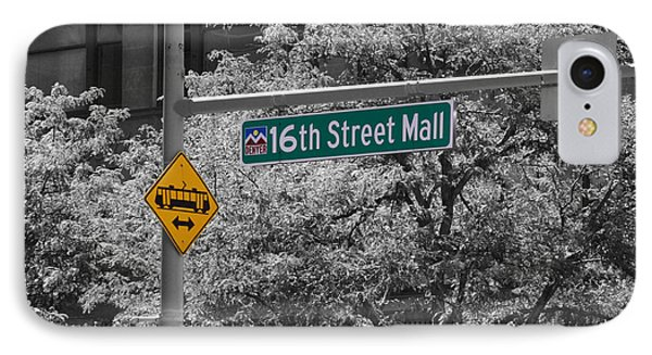 16th Street Mall IPhone Case