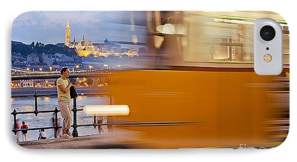 Budapest By Night IPhone Case by Odon Czintos